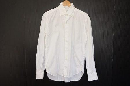 美しい仕立てで人気のオリアンのスリムフィットシャツを買い取りました