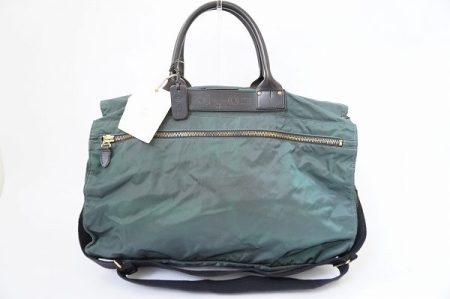 珍しいお色み深緑が渋くておしゃれ!フェリージ ボストンバッグを買取しました