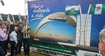 Medellín y Chapecó, hermanos por siempre