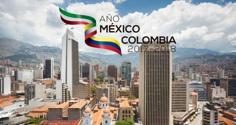 ¡Medellín inicia la celebración del año México - Colombia!