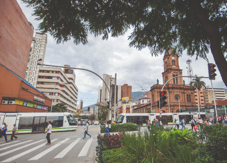 Tranvía de Ayacucho.