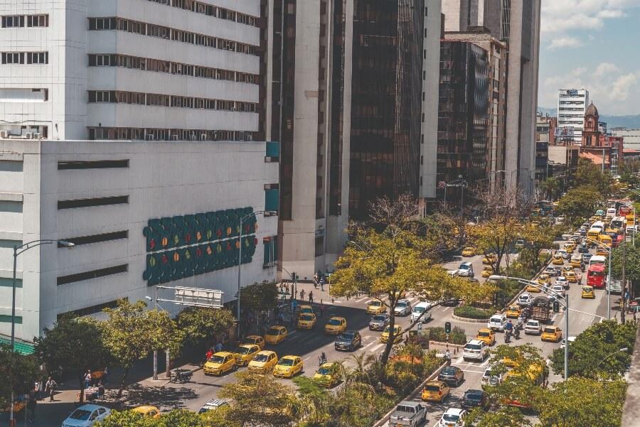 Corrededores verdes en Medellín
