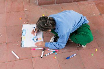 Niña de 8 años de Medellín, finalista del Concurso Internacional de Arte Infantil Chuncheon, Corea del Sur