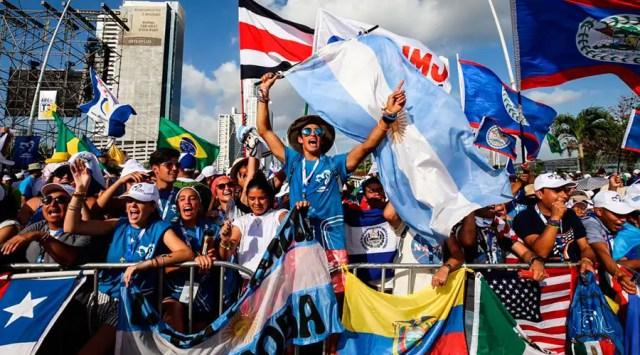 Jóvenes peregrinos de la Jornada Mundial de la Juventud Panamá 2019 - Foto: Daniel Ibáñez (ACI Prensa)