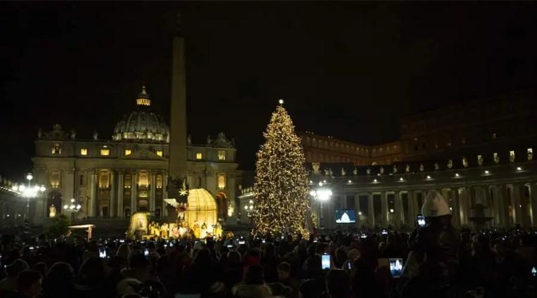Celebraciones que el Papa Francisco presidirá en Navidad