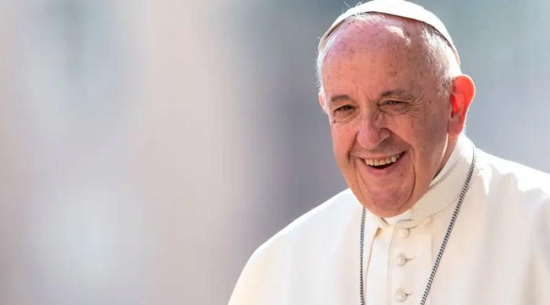 El Papa Francisco durante una audiencia. Foto: Daniel Ibáñez / ACI Prensa