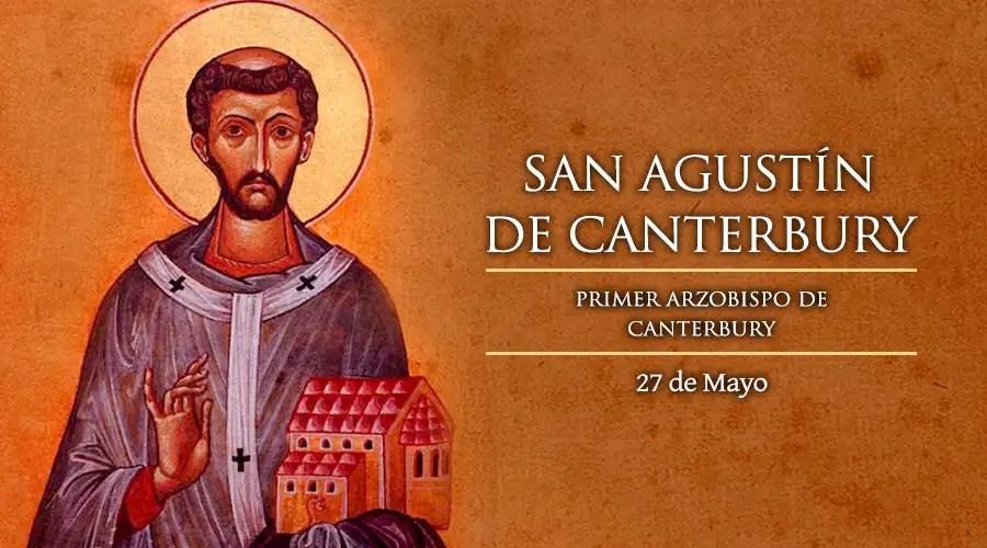 Resultado de imagen para San Agustín de Canterbury