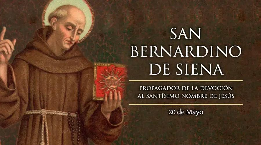 Resultado de imagen para San bernardino de Siena