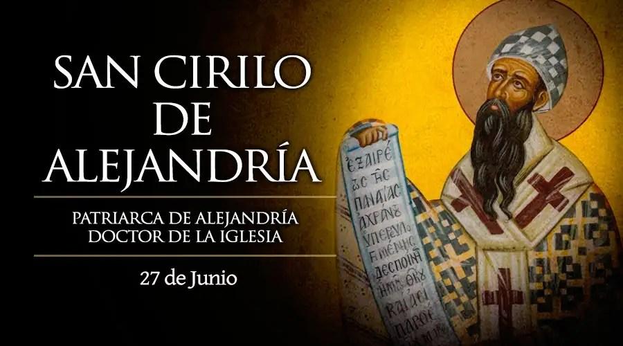Resultado de imagen para San Cirilo de Alejandría
