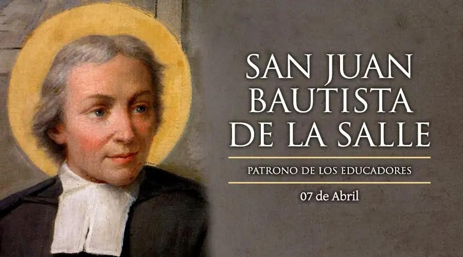 Resultado de imagen para San Juan Bautista de la Salle