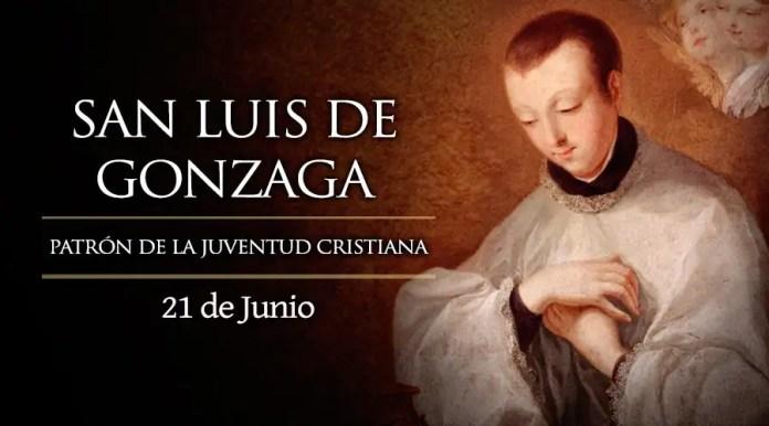 Resultado de imagen para Fotos de San Luis Gonzaga