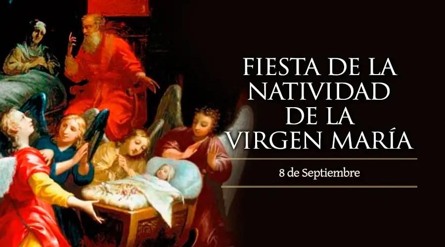 Resultado de imagen para Natividad de la Virgen María