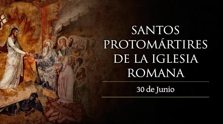Resultado de imagen para Santos Protomártires Romanos