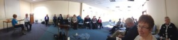 Marianella 360 - some of the gathering on March 8th in Rathgar
