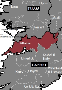 Location of Killaloe Diocese