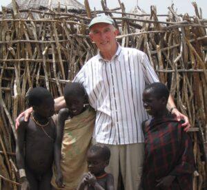 Ian Hart in Uganda