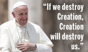 if we destroy creation