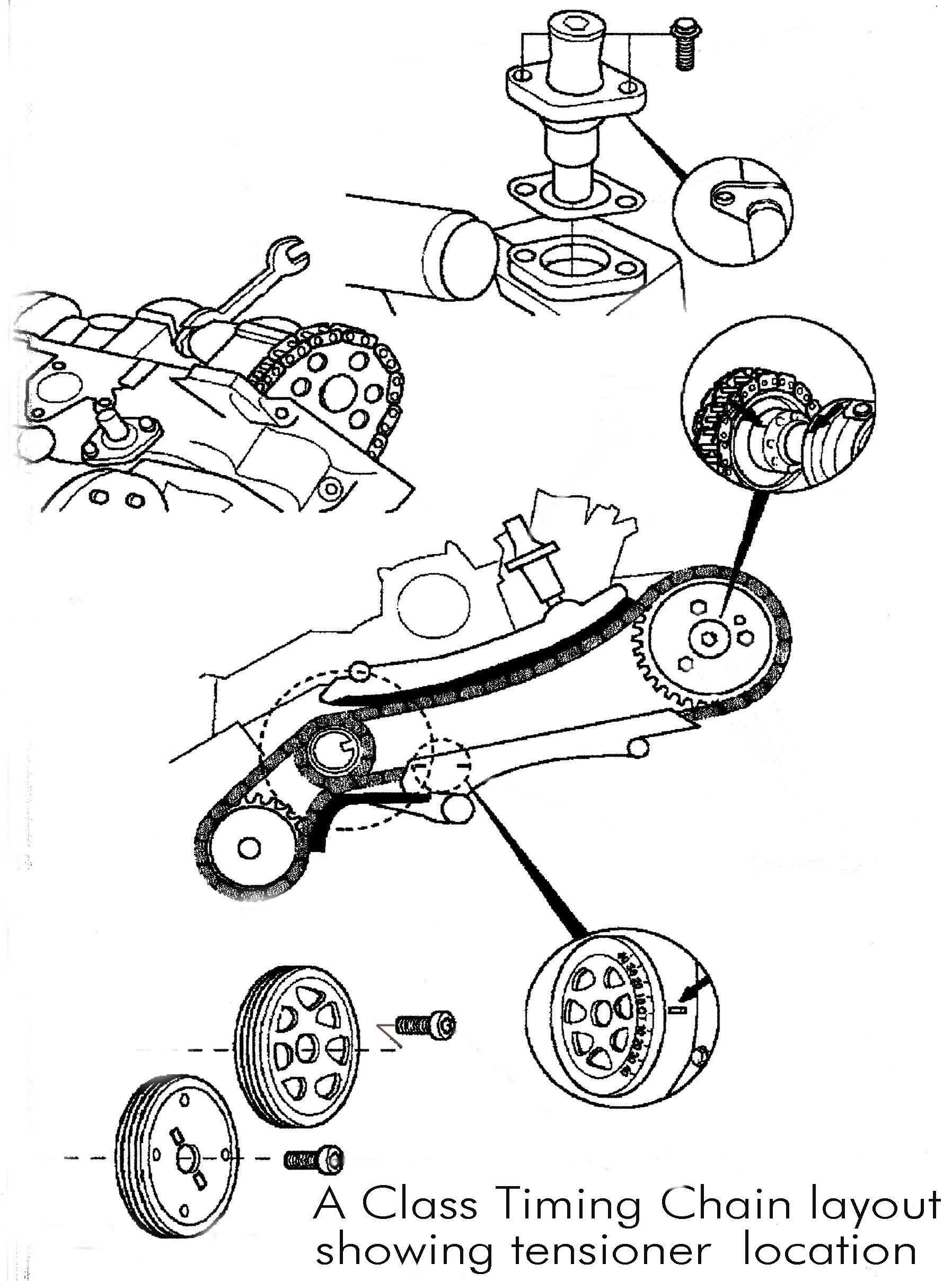 Mercedes Belt Tensioner Pulley Diagram