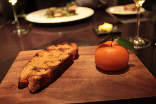 Dinner by Heston – the best way to celebrate post-CFA!!!