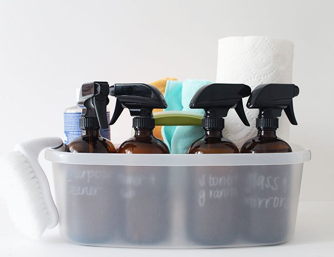 Natural DIY Home Cleaning Supplies Kit