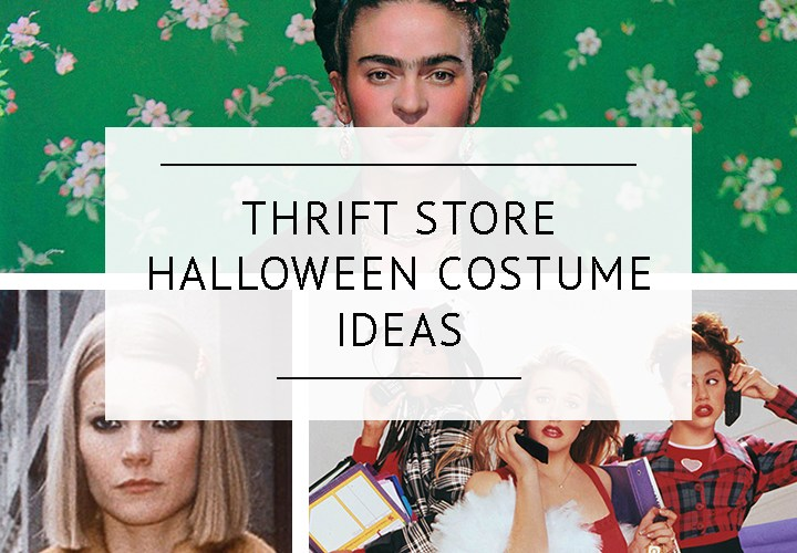 Sustainably Sourced Thrift Store Halloween Costume Ideas