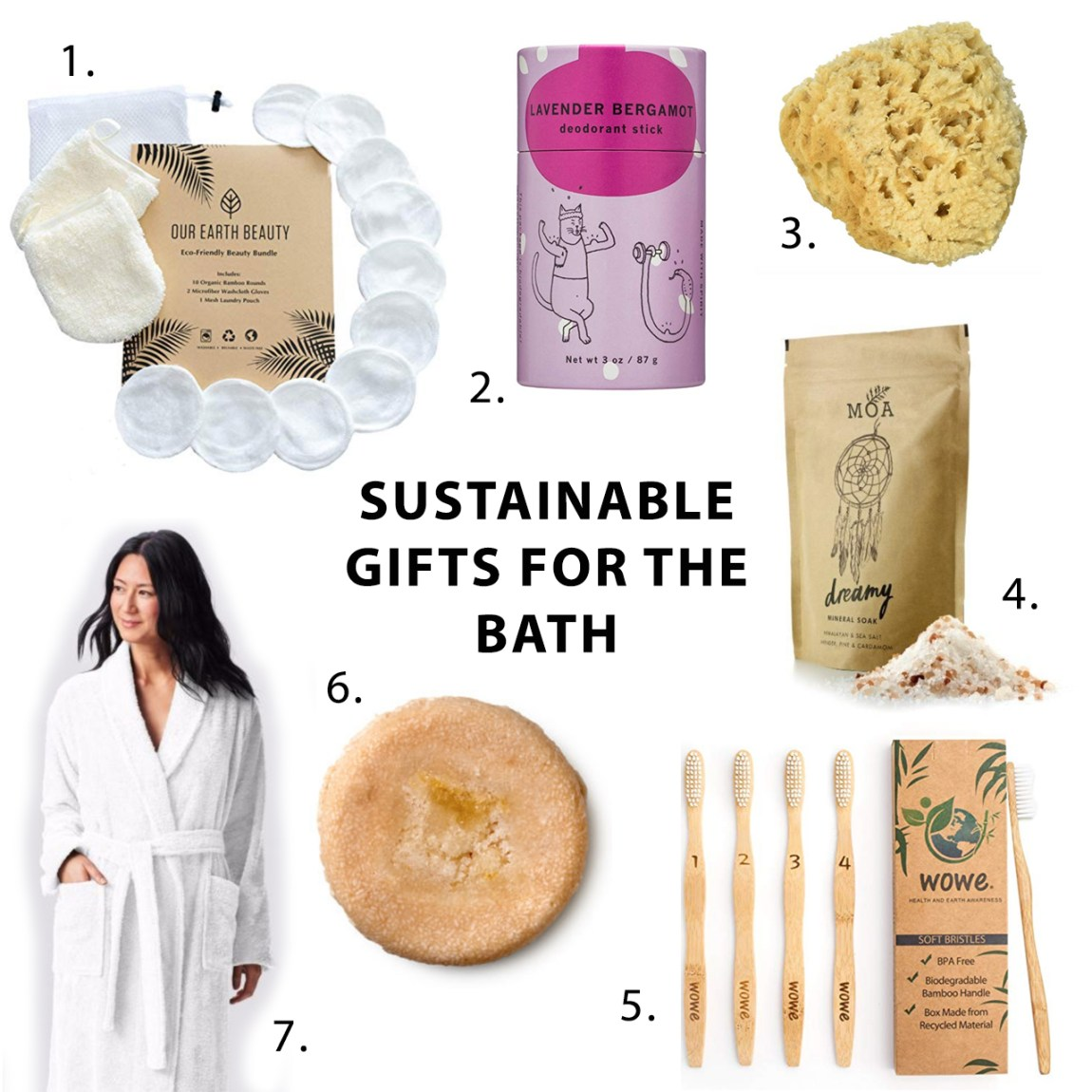 2018 Sustainable Gift Guide for the Bath