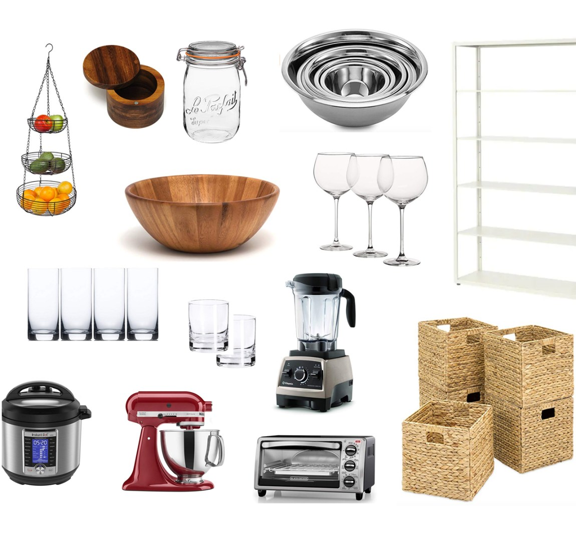 Minimalist Kitchen Makeover Products and Accessories