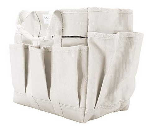 Canvas cleaning caddy