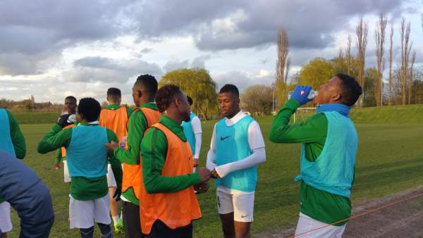 Super Eagles training towards World Cup