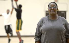 Meet Jacqueline Niagwan; the only female coach in KPBL making history