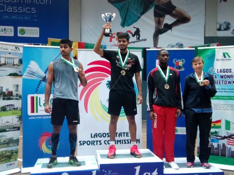 How it all went down at the 2017 Lagos International Badminton Classics