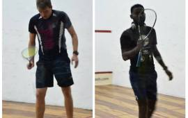 Top seeds Ford, Ajagbe, Olatunji into semi-final of Chamberlain Squash Open