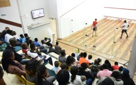 Chamberlain Squash Open: 3 top seeds battle for $12,000 in finals