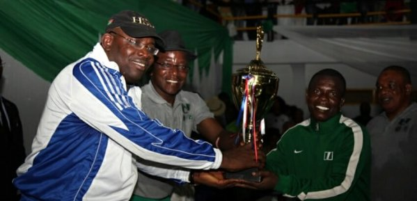 World Championship: Reliable Governor Dickson rescues Nigeria Wrestlers again