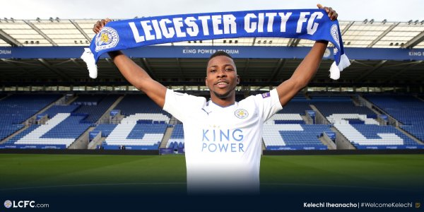 Leicester announce Iheanacho deal