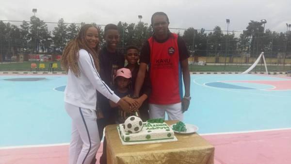Photos from Kanu Nwankwo's 41st birthday celebrations