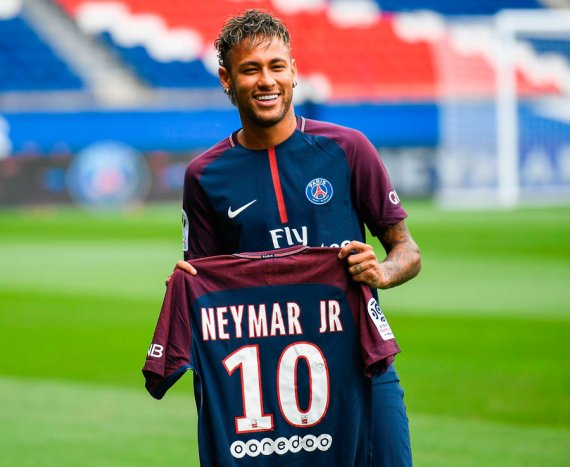 PSG unveil Neymar as world's most expensive player