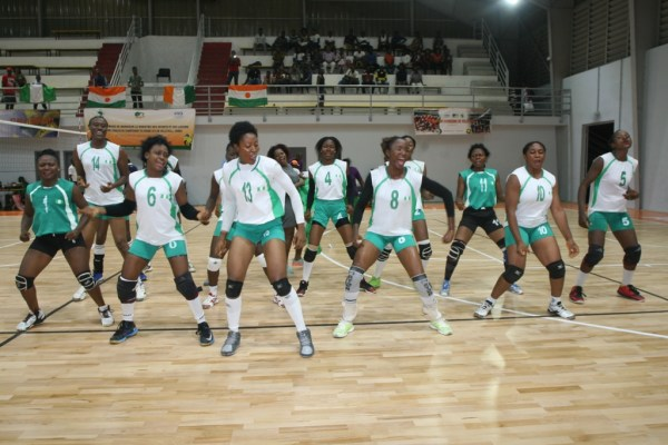 Volleyball cup of nations, 20 players at Abuja camp
