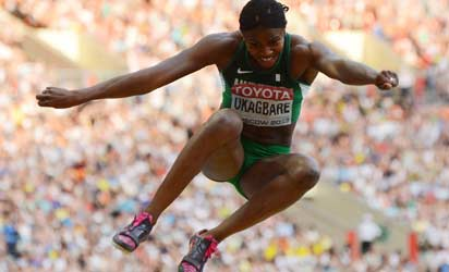 Okagbare-Ighoteguonor fails to medal as Amusan and Lindley knocked out in 100m Hurdles semifinal at World Championships