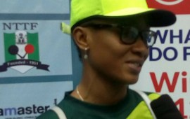 Oshonaike rallys Nigerians for support at the ITTF Challenge