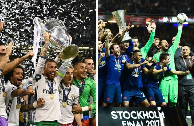 Real Madrid battle Man Utd for European Super Cup in Skopje