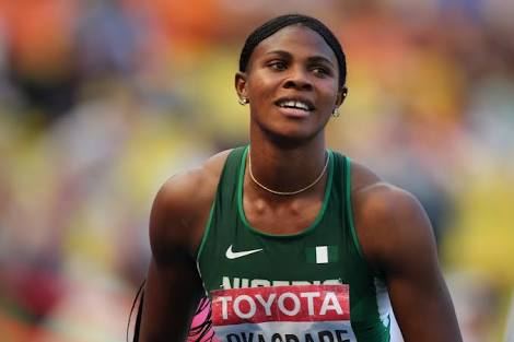 Blessing Okagbare-Ighoteguonor out of 100m final at World Championships in London