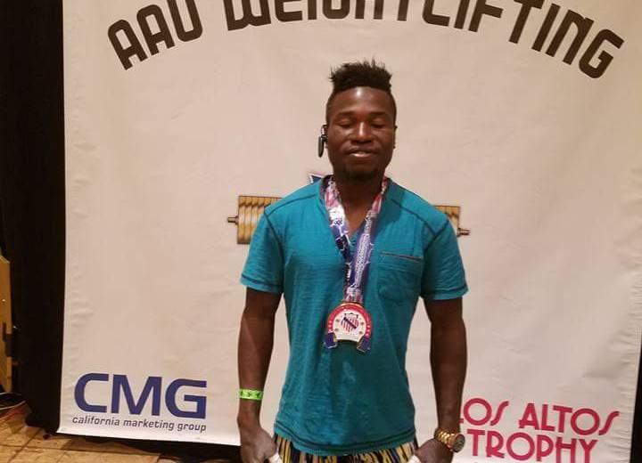 Nigerian weightlifter, Tanimowo,  wins in Las Vegas