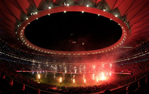 Atletico Madrid Start Well In New Home