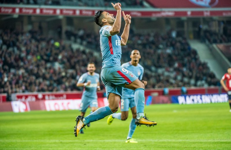 Ligue 1: Falcao at the double, as Monaco rout Lille