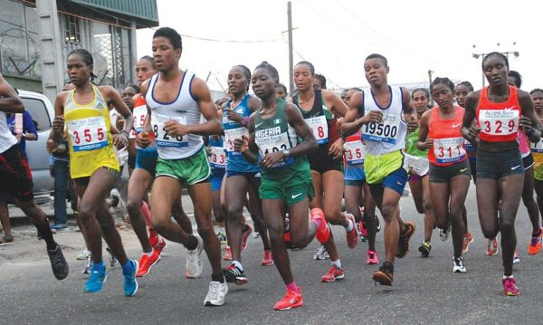 IAAF/AIMS certify  route of the Lagos City Marathon