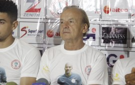 Rohr insists Nigeria's best players are in Europe