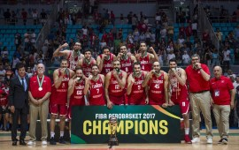 TUNISIA DETHRONE NIGERIA AS AFRICA BASKETBALL CHAMPIONS