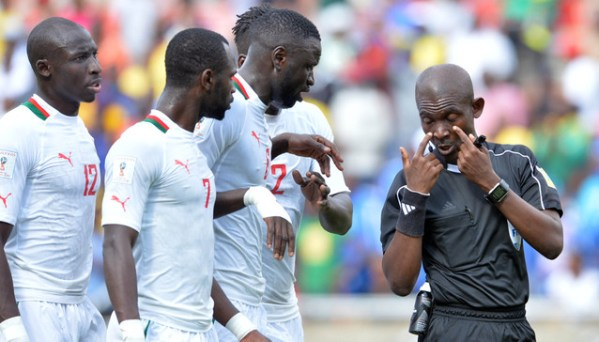 'It was a human error', claims Ghanaian referee Lamptey