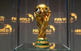 FIFA WORLD CUP: Original trophy set for world tour
